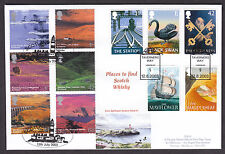2003 PUB SIGNS AND A BRITISH JOURNEY SCOTLAND DOUBLE DATED FDC ON DW23 FDC