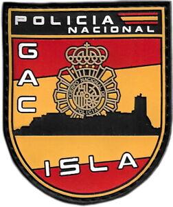 POLICÍA NACIONAL CNP GAC SAN FERNANDO ISLA PARCHE INSIGNIA EMBLEMA EB01460