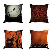 Latest Design Modern Castle Pillow Cases Linen Sofa Cushion Cover Home Decor NEW