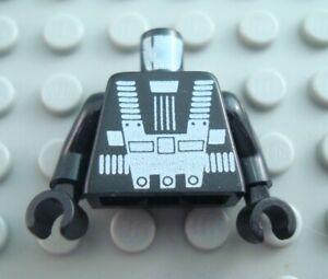 LEGO Black Spyrius Space Minifigure Torso Body Part