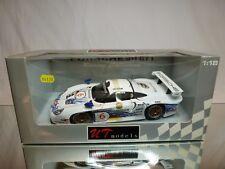 UT MODELS 39720 PORSCHE 911 GT1 BOUTSEN STUCK 1:18- BOXED + TRANSPORT STRAPS CAR