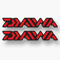 100mm x2 DIAWA Fishing Decal