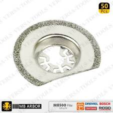 MB50O 63mm Diamond Semi-Round Electroplated Blades 50/Pack Fits Fein Multimaster