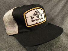 Vintage PSF Industries, Inc. Seattle Washington 1980s Mesh Trucker Hat