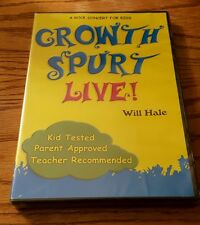 Growth Spurt Live! (DVD) Will Hale A Rock Concert for Kids music songs NEW