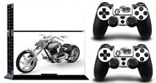 War chariot Motorcycle DECAL PROTECTIVE STICKER for SONY PS4 CONSOLE CONTROLLER