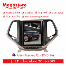 """10.4"""" tesla style Android Car Multimedia Player GPS  For JEEP Cherokee 2014-2017"""