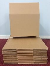 100 - 9 X 6 X 6 / 229 X 152 X 152 Mm Strong Single Wall Cardboard Boxes 24h