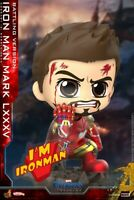 Hot Toys  Cosbaby Iron Man MK85 Battling Ver. COSB651Bobble Head Figure Doll Toy