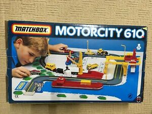 Matchbox Motorcity Container Port 610 from 1992 Complete Set  V Good Condition