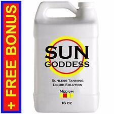 Sun Goddess - MEDIUM - 16 oz - Spray Tanning Liquid Solution / Spray Tan