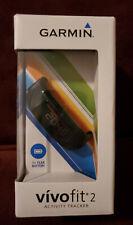 Garmin Vivo fit 2 Activity Tracker Small Black Wrist Band slightly used in box