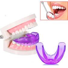 NEW Purple Dental Mouth Guard Bruxism Splint Night Teeth Grinding TMJ Sleep Aid