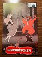 Neues Film-Programm Nr. 7171: Dornröschen (Walt Disney)
