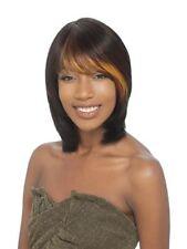 SAGA 100% REMY HUMAN HAIR FULL WIG DUBY STYLE WITH BANG - DESTINY