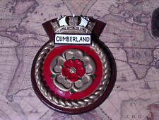 More details for ships crest - hms cumberland - round version
