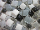 "450pcs Micro Mosaic Tiles Grey mixture 3/8"" stock in US"