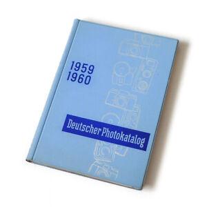 VGP Deutscher Photokatalog 1959 / 1960 * Großhandelskatalog; Daten Bilder Preise