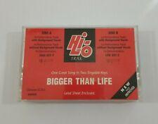 Karaoke - Bigger Than Life Cassette 1990 Hi Lo The Benson Company