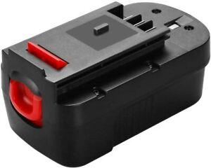 Batterie Pour Black et Decker 18V 3.0Ah Ni-MH A18 A1718 A18NH A18E HPB18 OPE FR