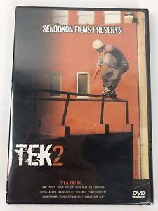 """Tek 2"" Inline Skate DVD Brand New Rare Retro Rollerblade Aggressive FREE POST"