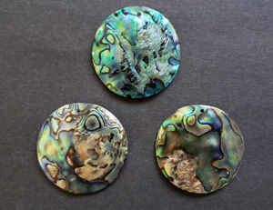 Abalone Shell Round Pendant (45 mm)