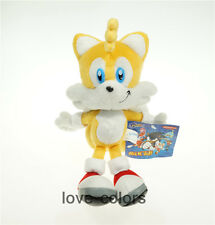 """New Sonic the Hedgehog Miles """"Tails"""" Prower Anime Plush Soft Stuffed Toy Doll 9"""""""