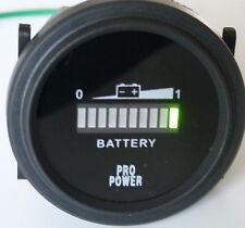 36 Volt Battery meter, gauge - forklift, solar sys, trolling motor, golf cart