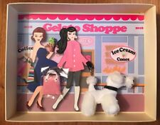 """2018 """"On The Avenue""""  Barbie Convention Gelato Shoppe Gift Set NRFB"""