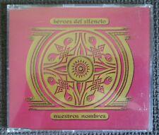 Héroes Del Silencio - Nuestros Nombres MCD (EMI,1993) 4Track made in Holland