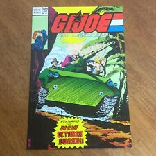 G.I. Joe: A Real American Hero 1988 #101 Hasbro Comic Book New October Guard War
