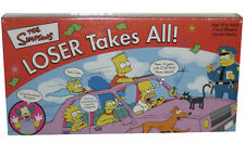 The Simpsons Loser Takes All (2001) Roseart Board Game