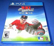R.B.I. Baseball 16 Sony PlayStation 4 - PS4 - *New! *Free Shipping!