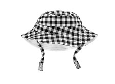 New Carter's Baby Gingham Bucket Hat 3-9 Months