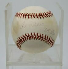 Al Weis New York Mets Autographed Signed Baseball 1969 WSC NO RESERVE