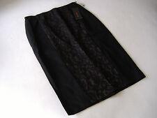 Unifarbene knielange Damenröcke aus Polyamid