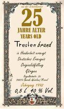 25 Jahre alter Tresterbrand von der Mosel 0,5 L {Kategorie Grappa Marc Trester}!