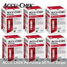 ACCU CHEK Performa 300 Test Strips 300 Sheets Made in Germany Exp Jul.2021