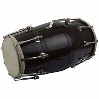 Wooden Dholak Premium Quality Folk Indian Musical Instrument Nuts N Bolt Drum