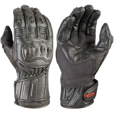 Akito Speedster Motorcycle Motorbike Leather Gloves with Knuckle Guard