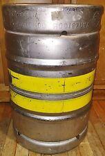 Stainless Steel MEXICAN Beer KEG PLASMA CUT Top 15.5 Gn Brew Kettle Keggle!