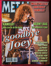 Ramones on cover of Italian Magazine METAL SHOCK 2001 SLIPKNOT CAMELOT JOEY