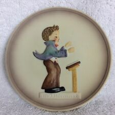 "Final Edition MJ Hummel 742 Little Music Makers Plate Band Leader 4"" Goebel"