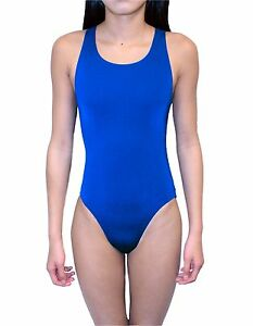 Adoretex Polyester Wide Strap Swimsuit