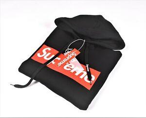 Supreme Italia Men Black Hoodie Sweatshirt Pullover| Size XS M L | SUFE2101