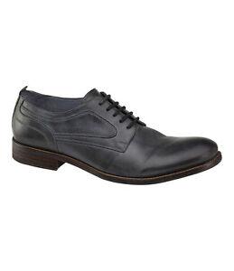 Men's Johnston & Murphy J&M1850 BRANNON Plain Toe Dark Grey, 20-2995 Sizes 10