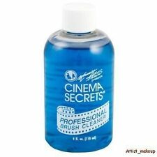 Cinema Secrets Professional Brush Cleaner Disinfect Makeup Cleanser 4 oz Bottle
