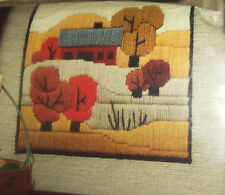 Vintage Better Homes and Gardens Stitchery Kit Colorado Foothills