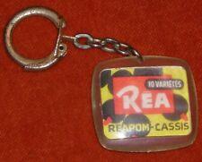 Porte-clés Key ring Réapom CASSIS Réa 10 Variétés jus de fruits