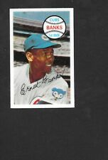 1970 KELLOGGS 3-D #40 Ernie Banks CHICAGO CUBS  EX + ( No Cracks )   A
